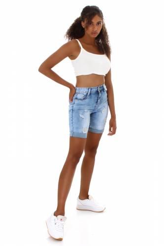 Jeans Shorts Laurel - blau