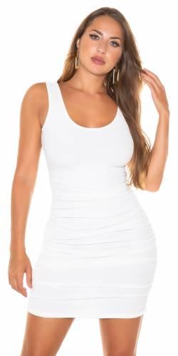 Mini robe Layci - blanc