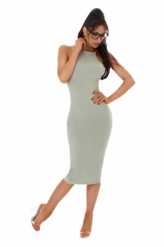 Kleid Liana - khaki