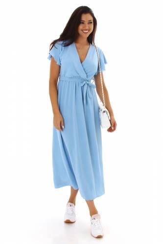 Robe maxi Lesley - bleu clair