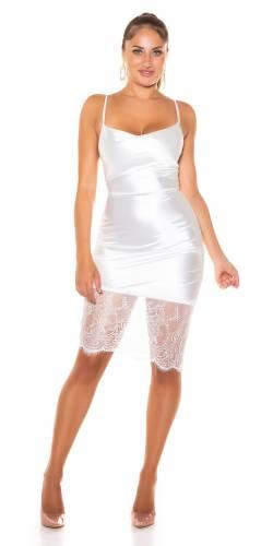 Mini robe Laya - blanc