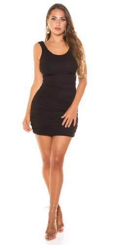 Minikleid Layci - schwarz