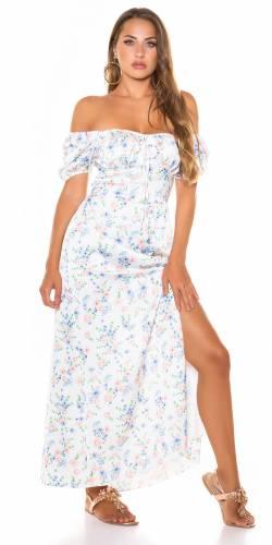 Kleid Leona - weiss