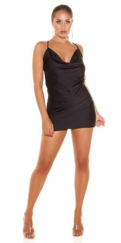 Mini robe Lilaia - noir