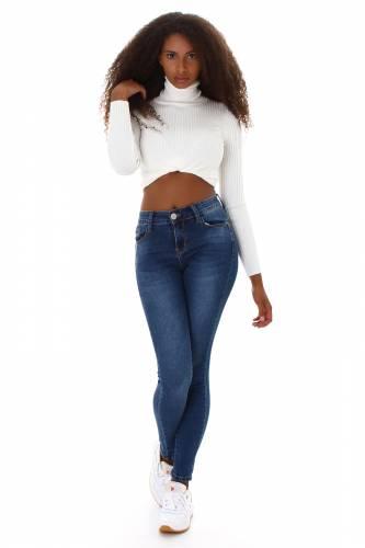 Push-Up Jeans Madan - dunkelblau