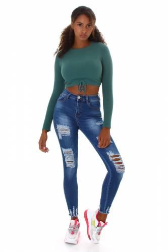 Jeans Maddy - blau