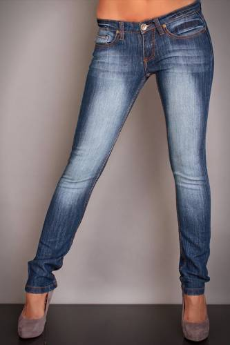 Jeans Stretch 98 - 86 - blue