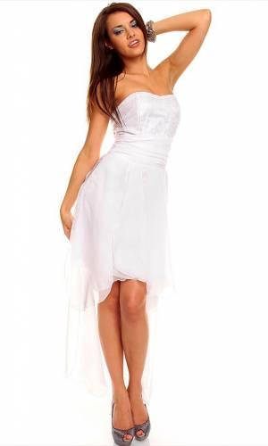 Kleid Mayaadi - white