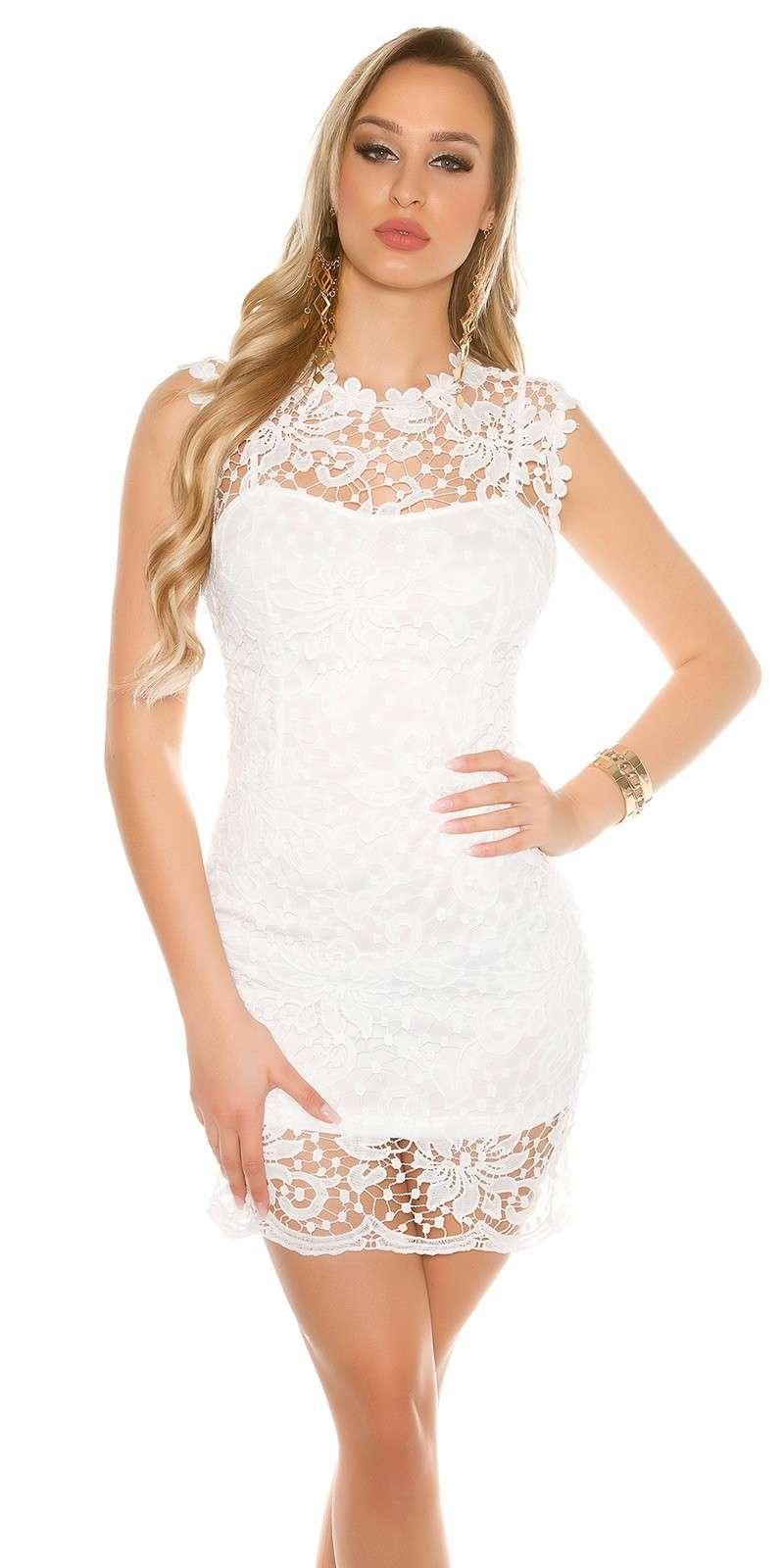 Spitzenetui Kleid