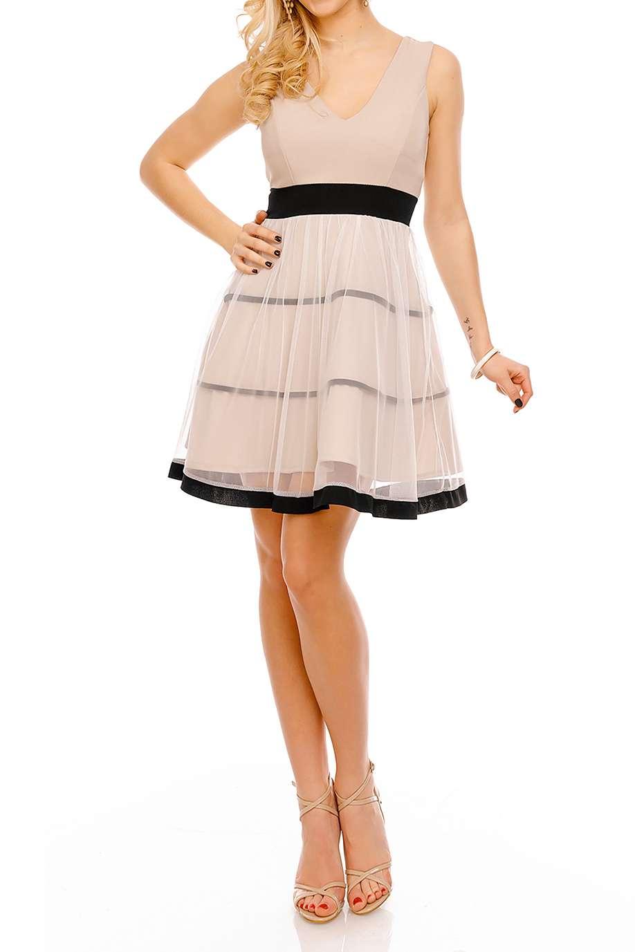 Kleid Royal - Kleider - beige - Sexyjeans.ch - Label: Blu ...