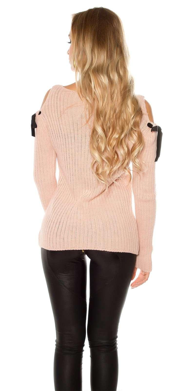 grobstrick pulli pullover sweatshirt altrosa. Black Bedroom Furniture Sets. Home Design Ideas