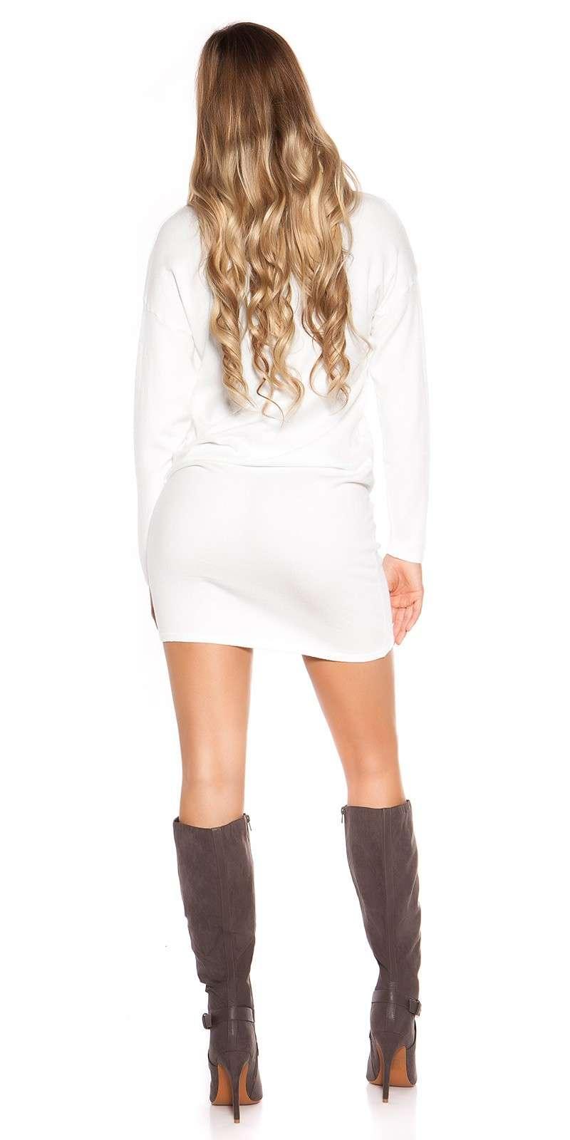 Langarm-Minikleid