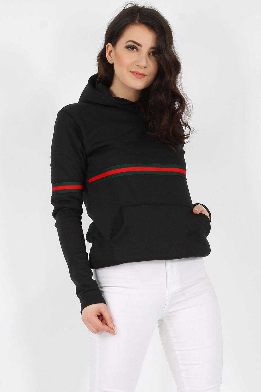 Stripe Hooded