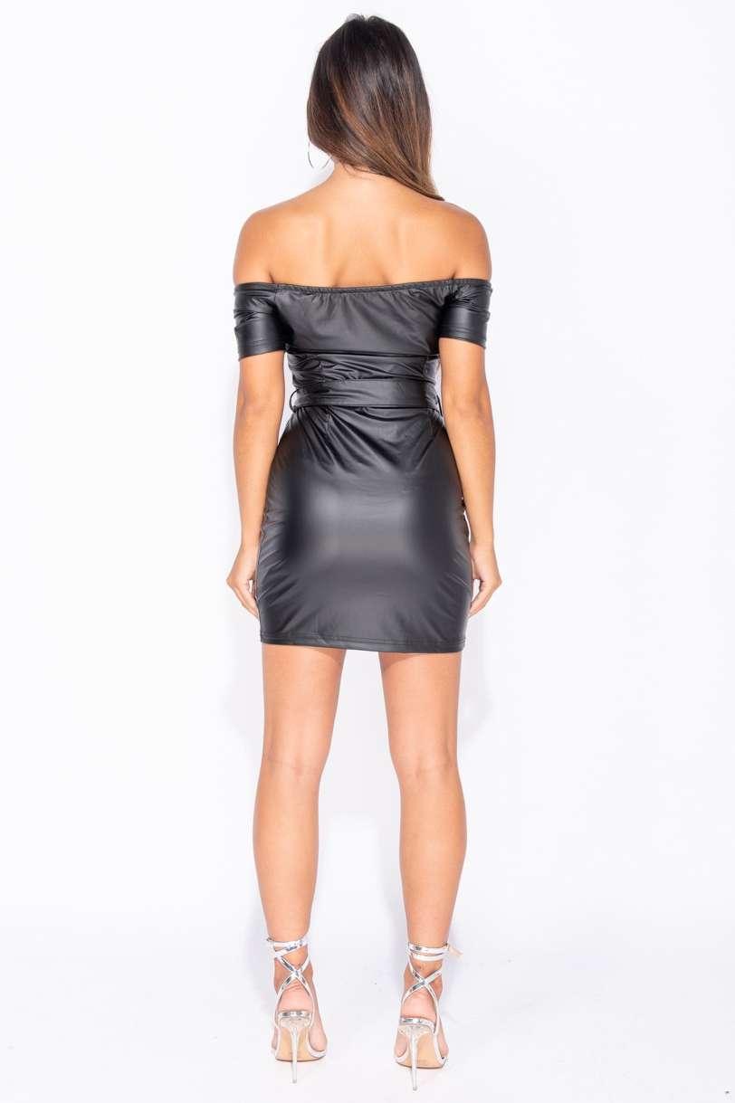 Wet Look Kleid