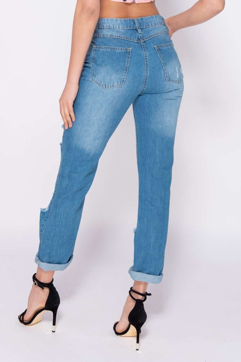 Comfort Fit Mom Jeans