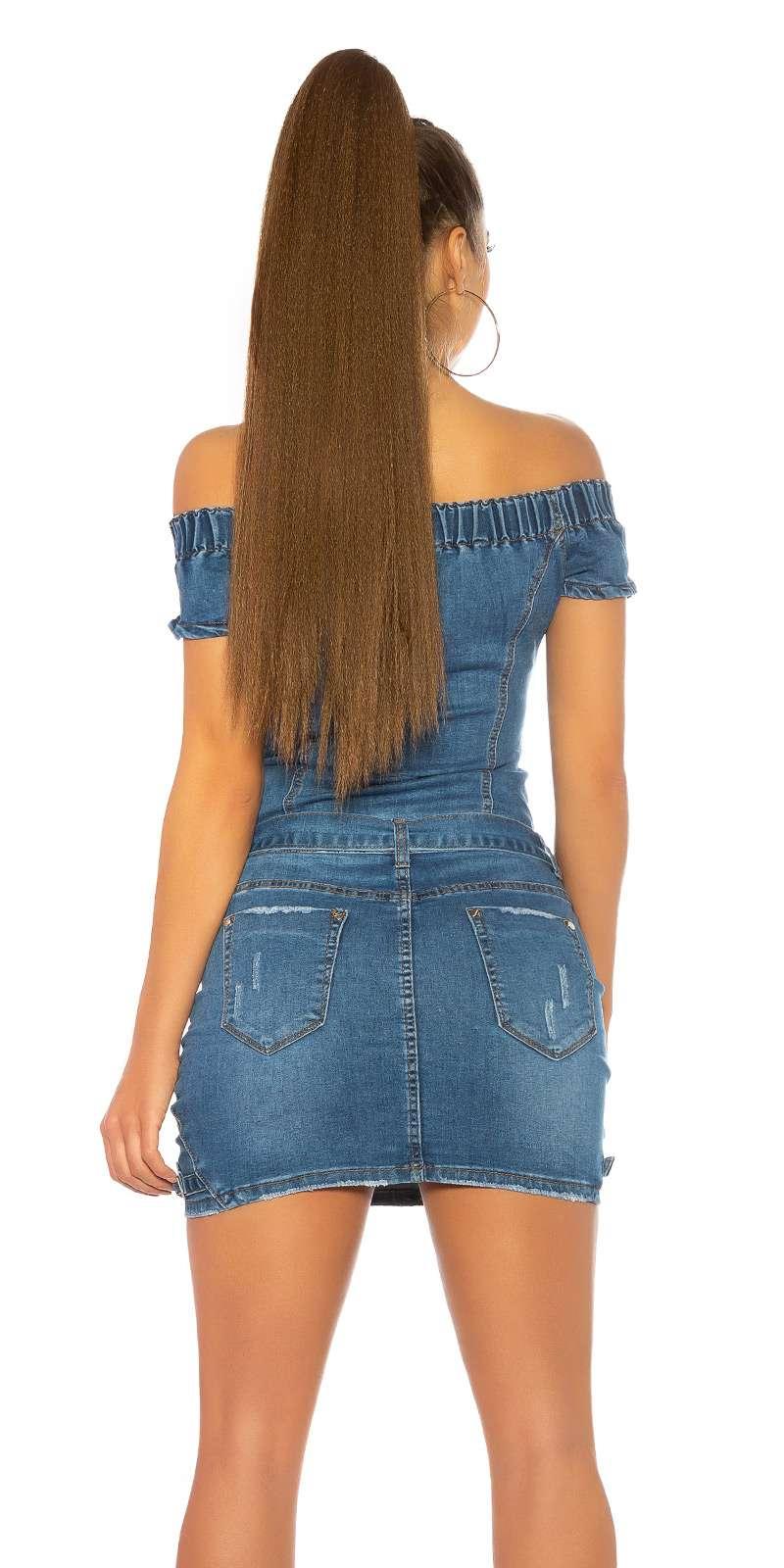 Jeans Minikleid