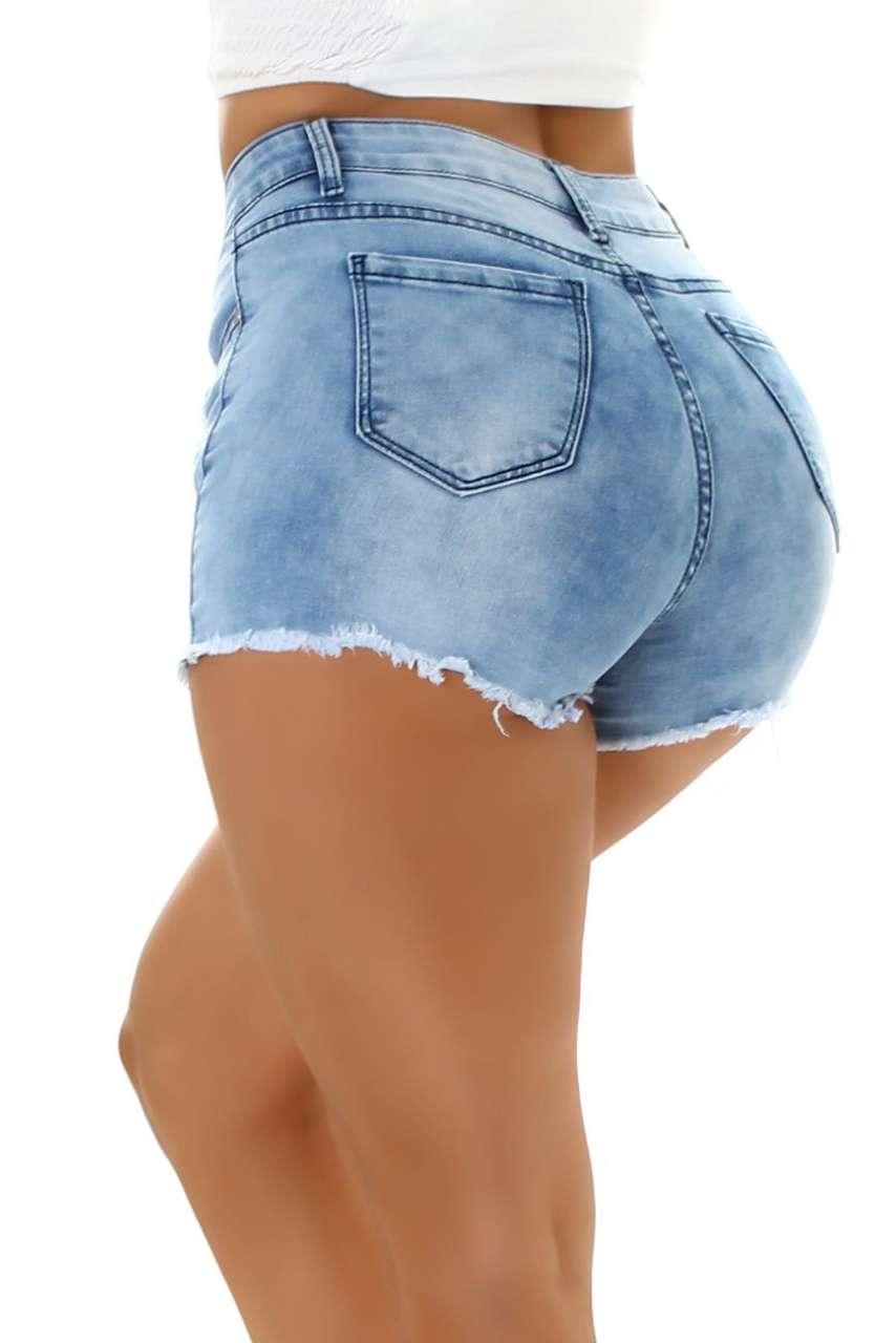 Short en jean Print