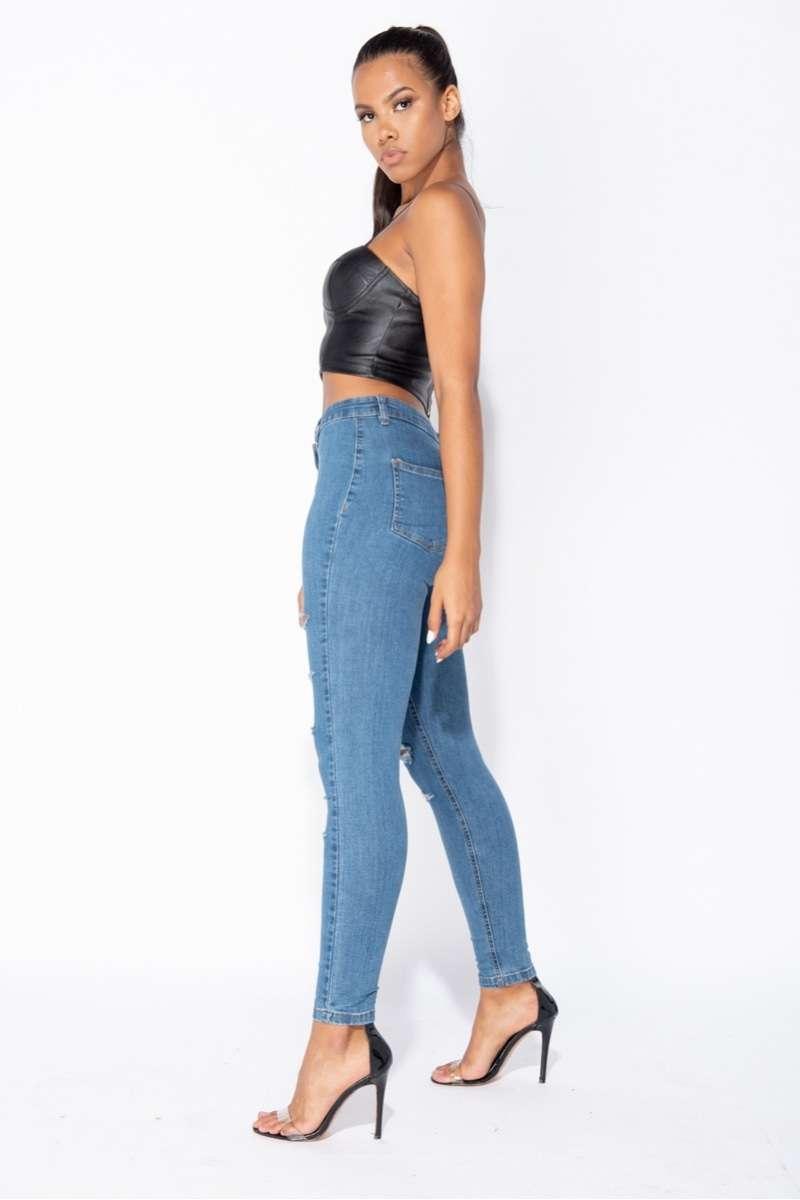 Stretchy Skinny Jeans