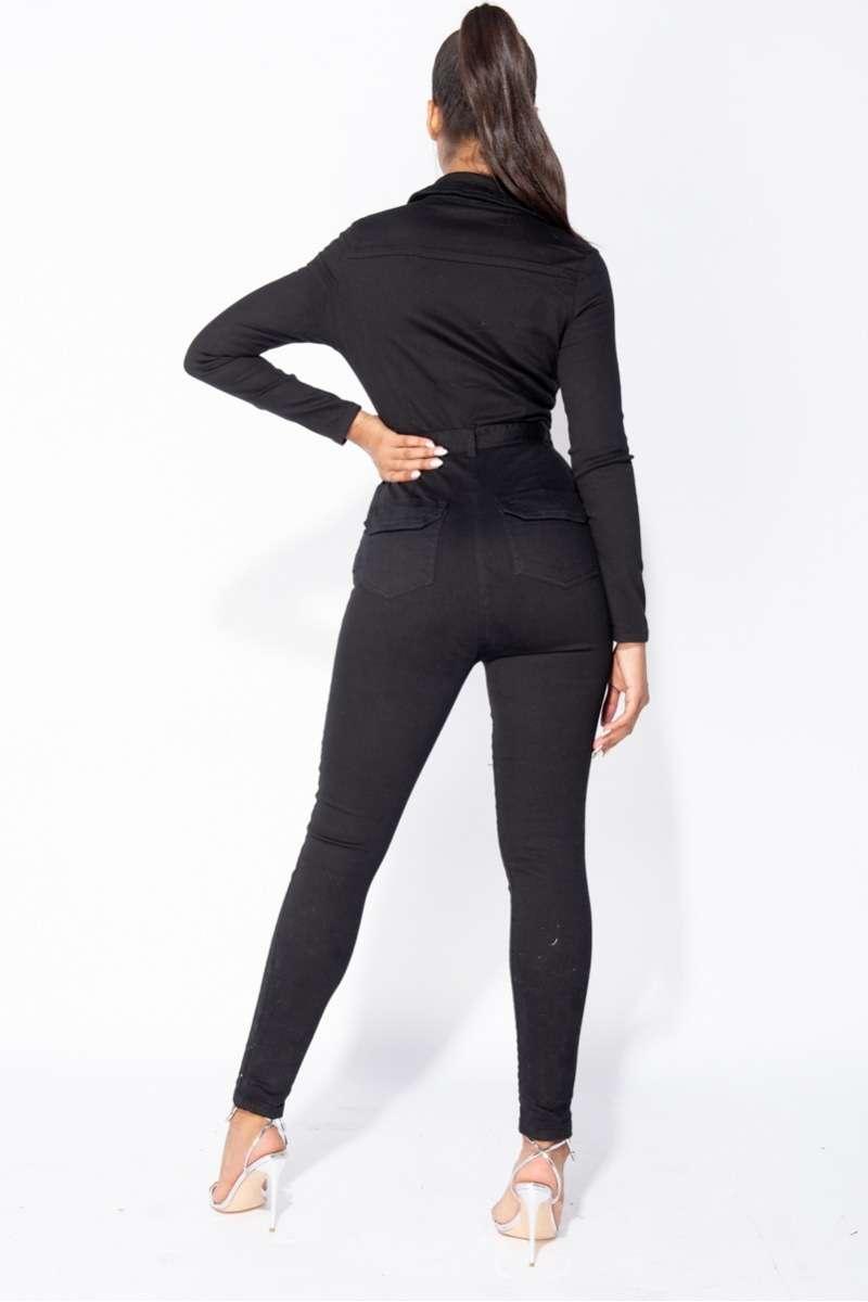 Denim Jumpsuit Saya