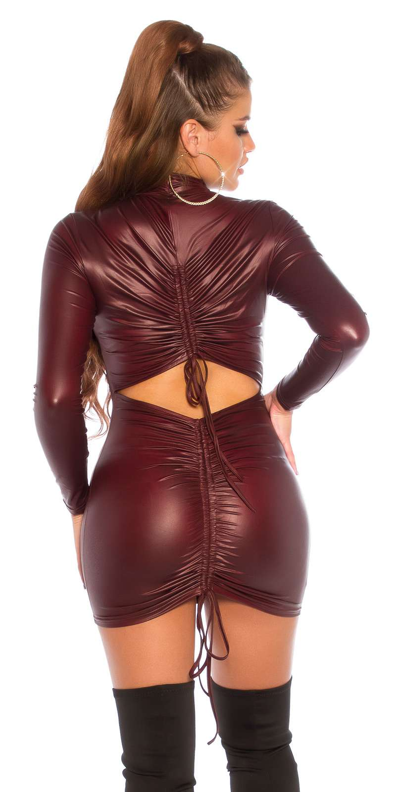 Wetlook Kleid