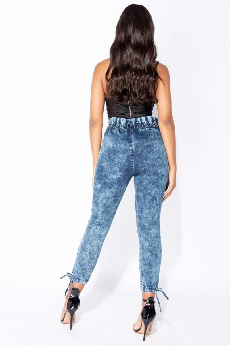 High Waist Jeans Lacey