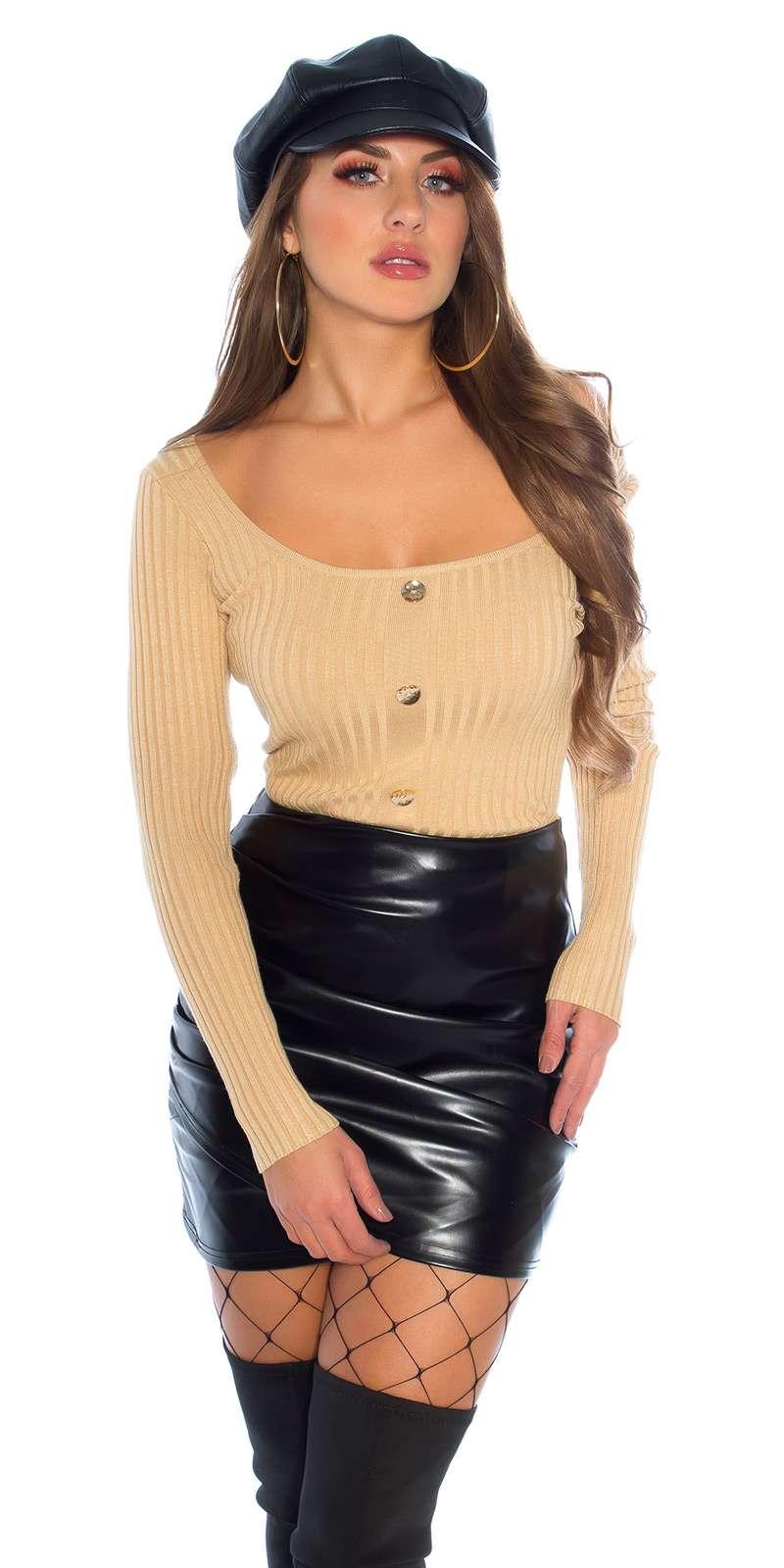 Pull en tricot fin