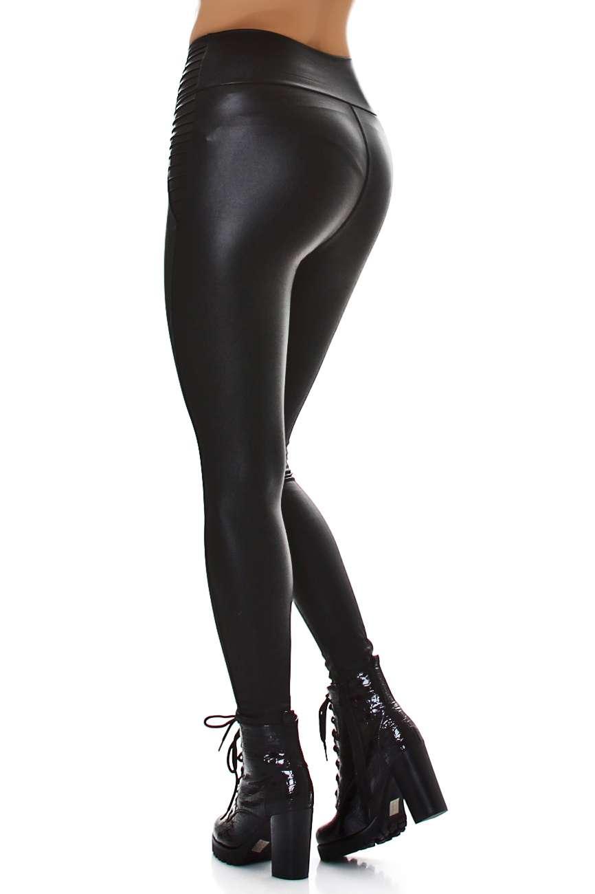 Lederlook Leggings