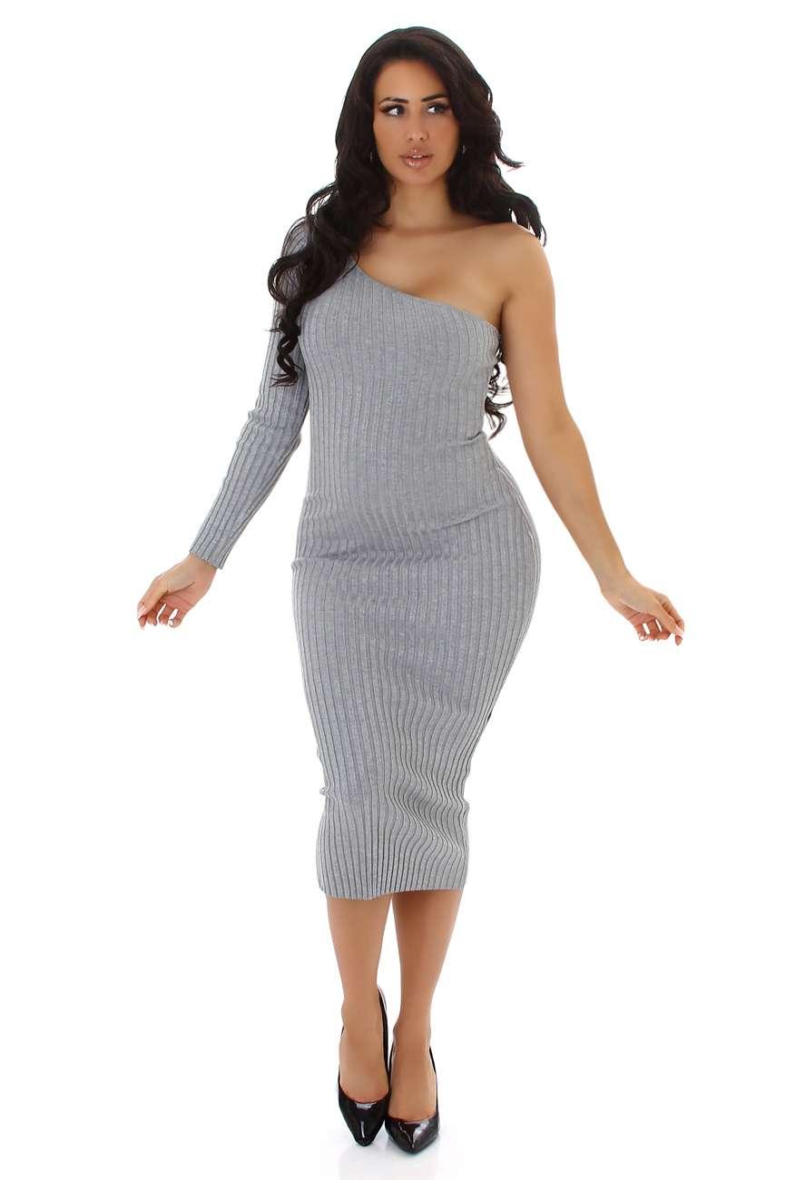 Robe en tricot fin