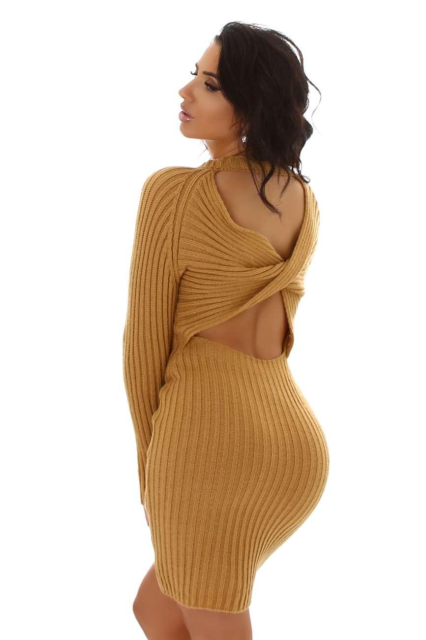 Robe tricotée