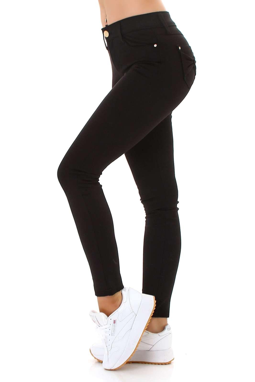Skinny Jeans avec boucle