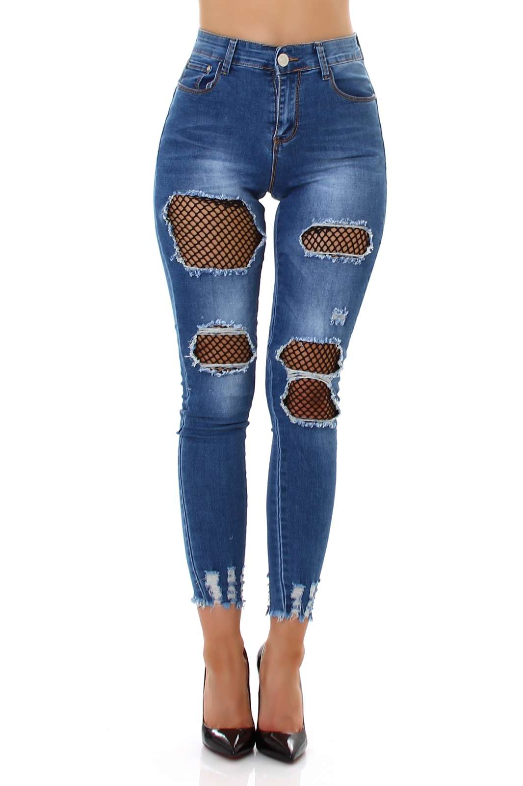 High Waist Jeans Sandel