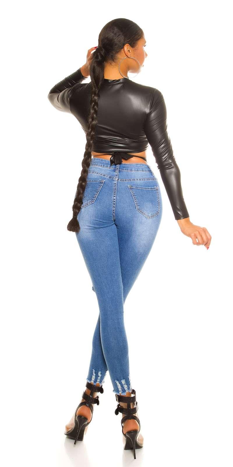 High Waist Jeans Junia