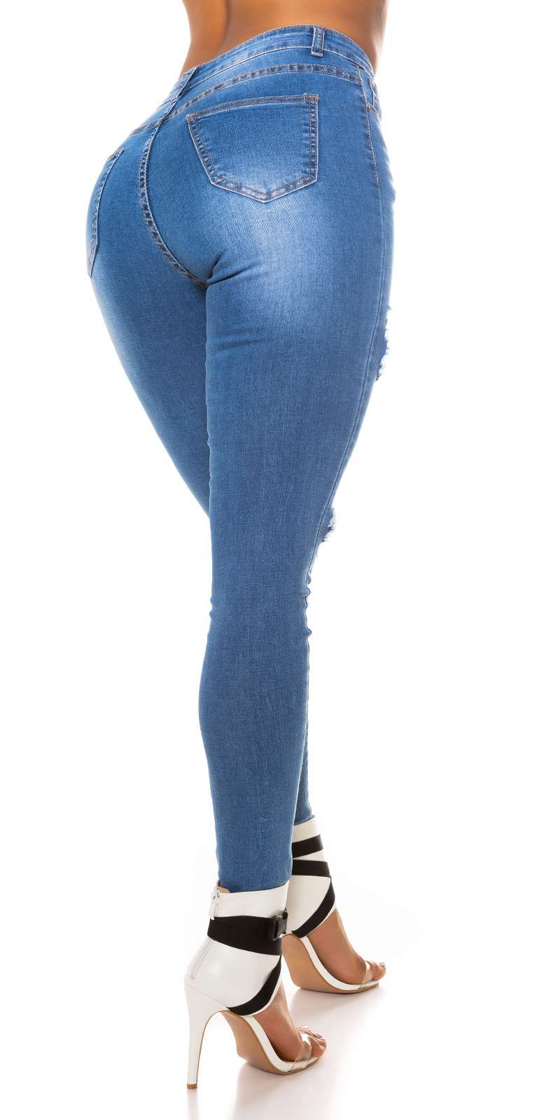 High Waist Jeans Lesha