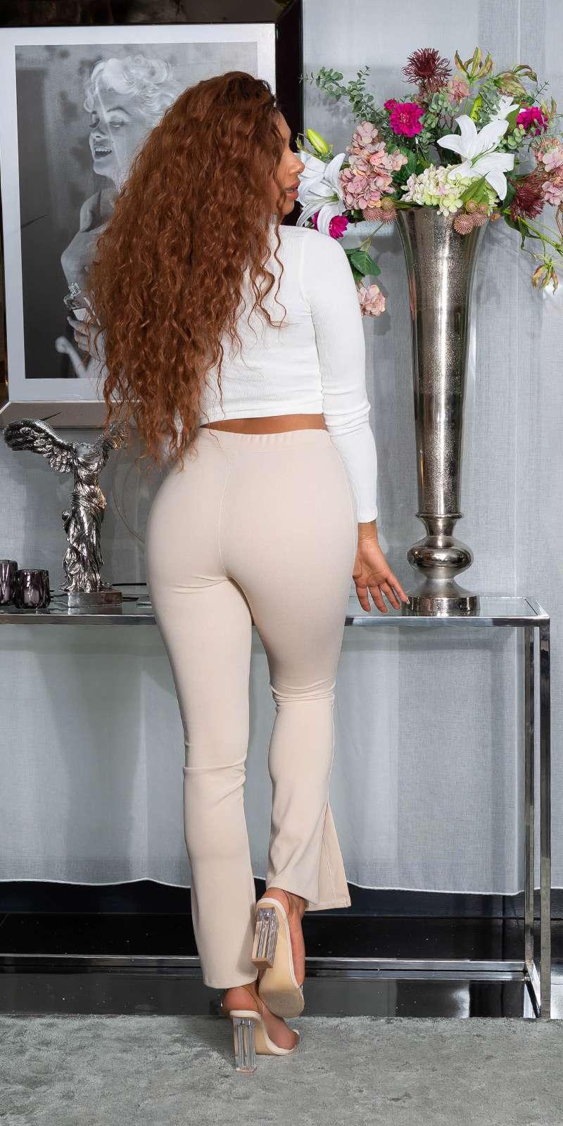Pantalon High Waist