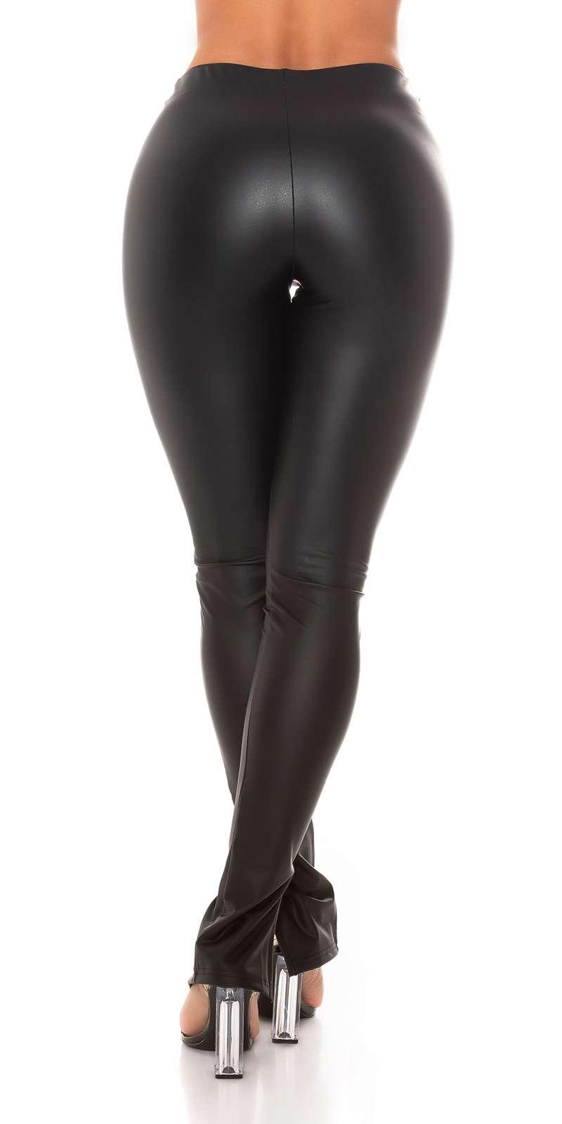 Leggings aspect cuir