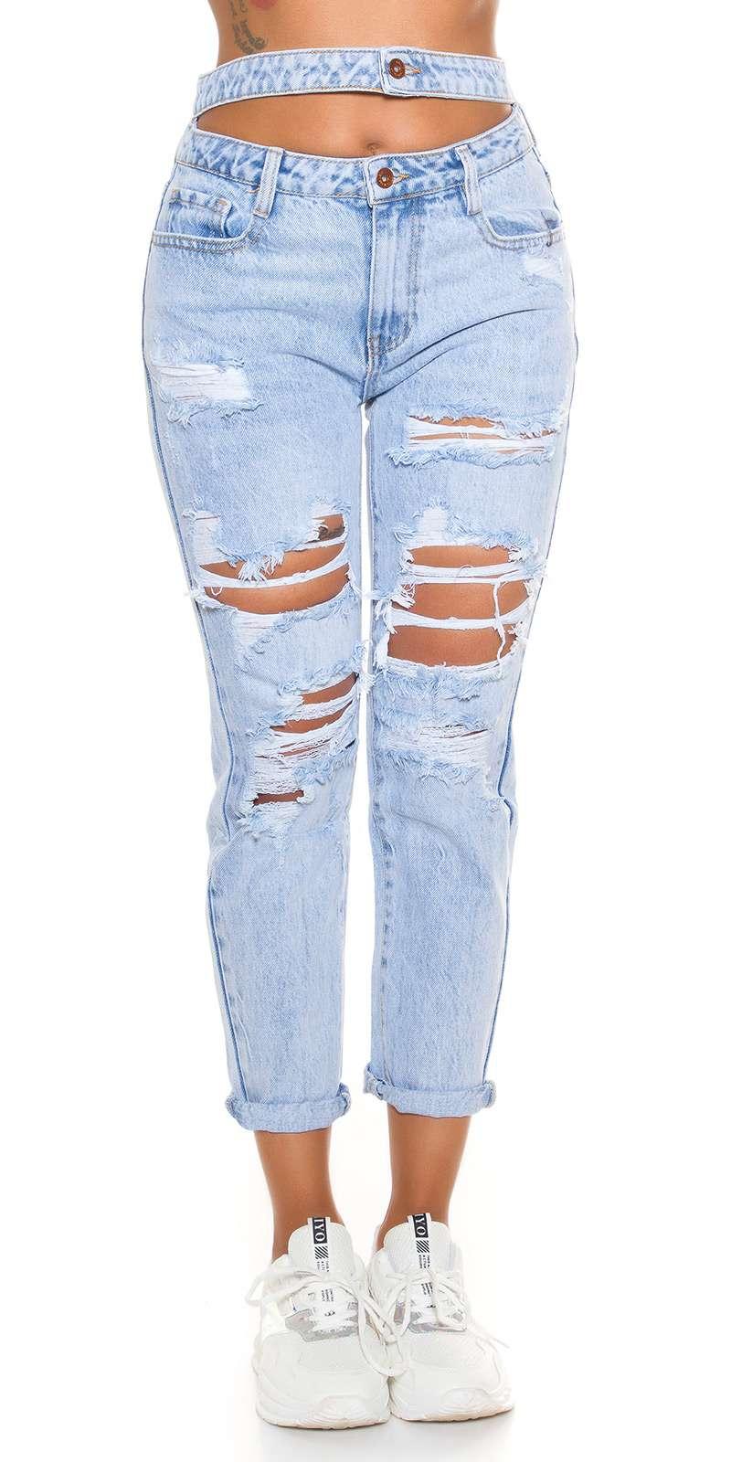 Double Waist Mom Jeans