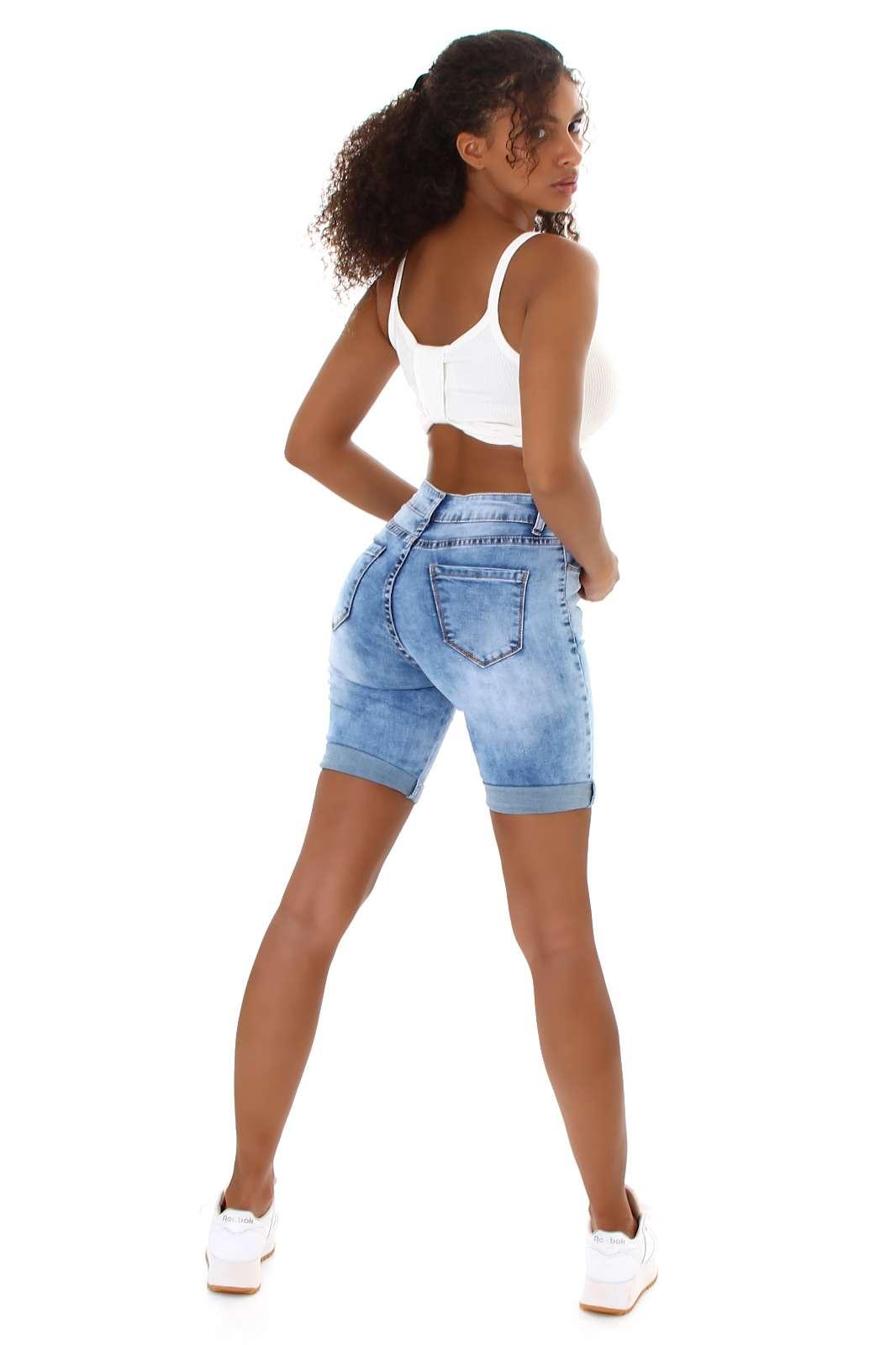 Short en jean Laurel