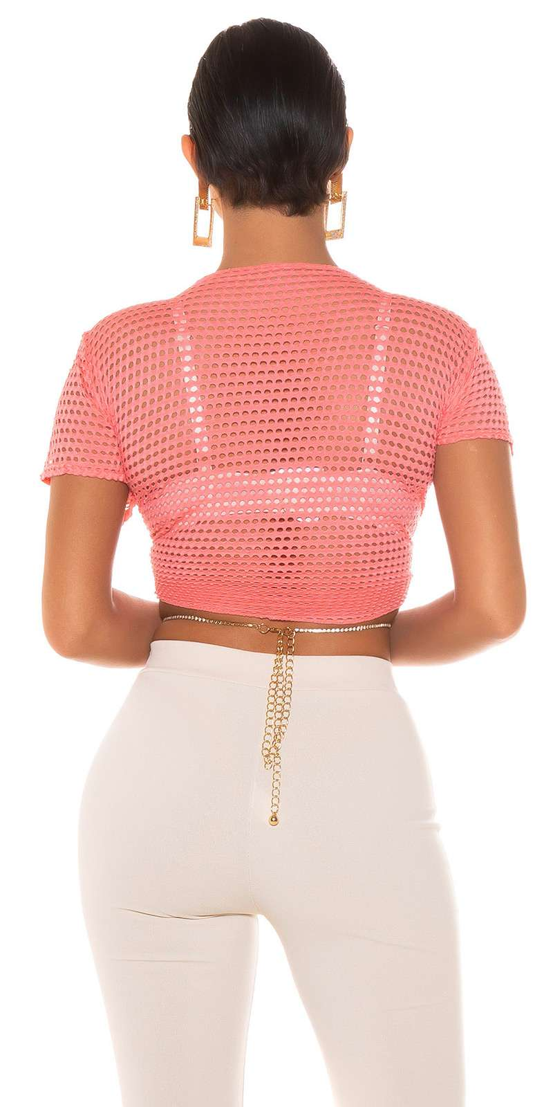 Shirt en filet Leora