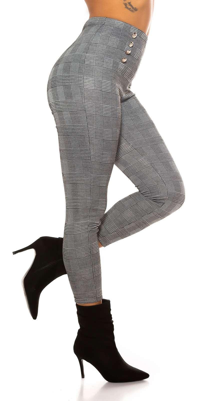 Pantalons à carreaux Liriel